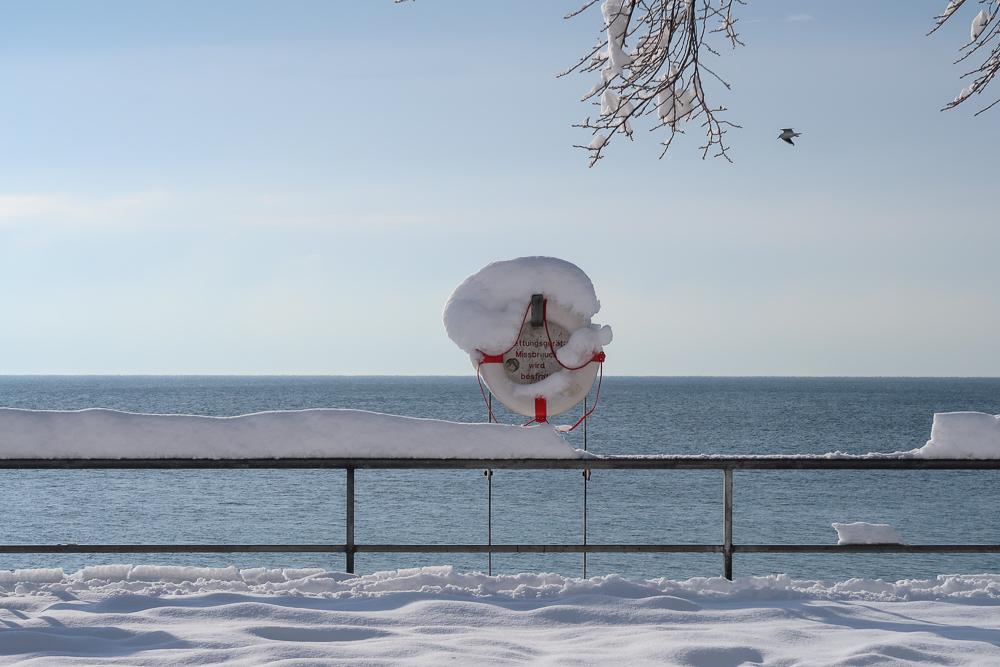 Schnee Spaziergang Friedrichshafen am Bodensee Januar 2021 hyyperlic-18