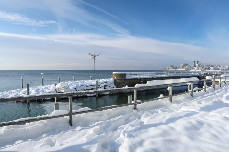 Sightseeing Walk Snow Lake Constance Friedrichshafen January 2021 Blog JoyDellaVita-13