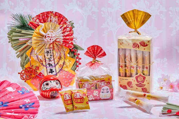 YOKU MOKU 品牌更加推3款和風賀年紙套供顧客配搭其他貨品,倍添日系新年氣氛!