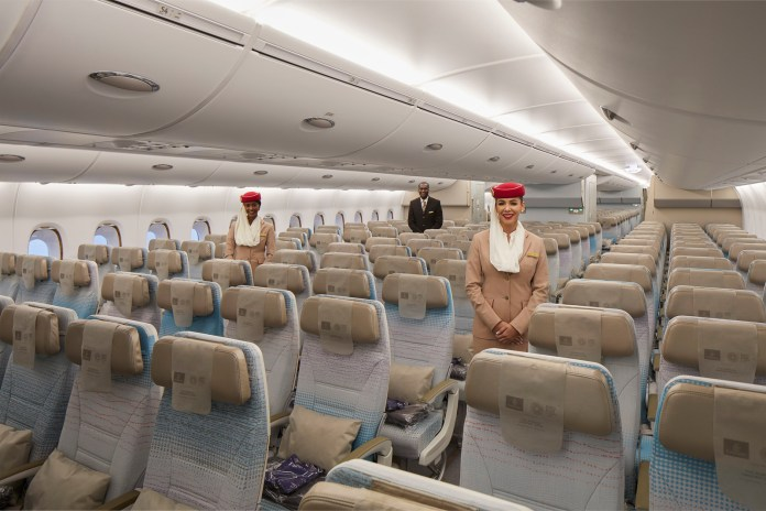 Refreshed A380 Economy Class