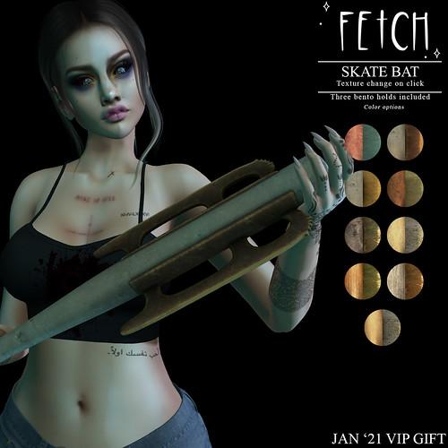 [Fetch] Skate Bat @ Jan 2021 VIP Gift