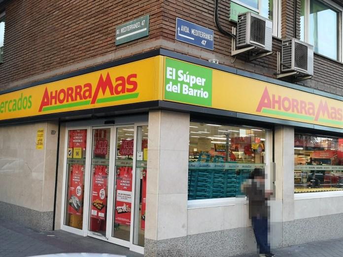 深入社區的馬德里本地超市Ahorra Mas