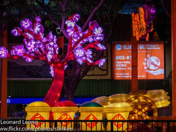 Chinese New Year Lights 2021