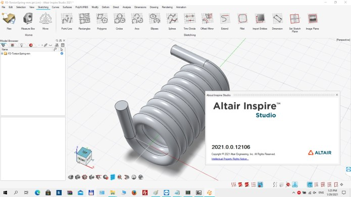 Working with Altair Inspire Studio 2021.0 full
