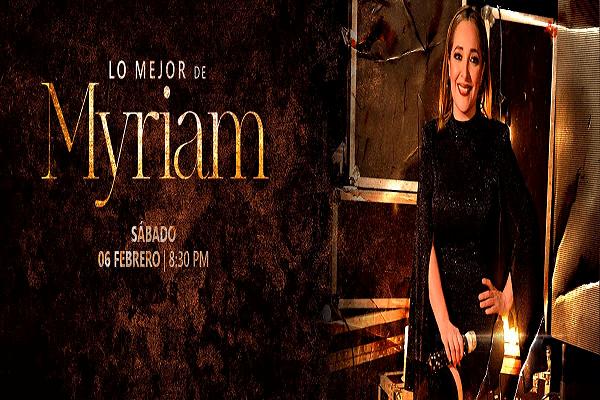 2021.02.06 Lo mejor de Myriam