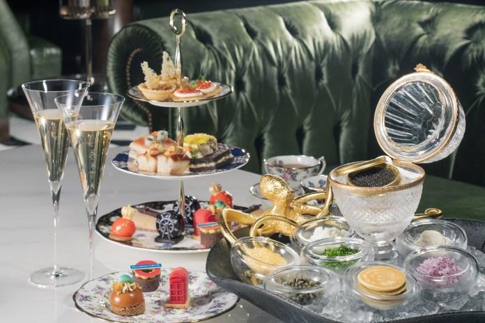 Afternoon Tea Set_Caviar tea set