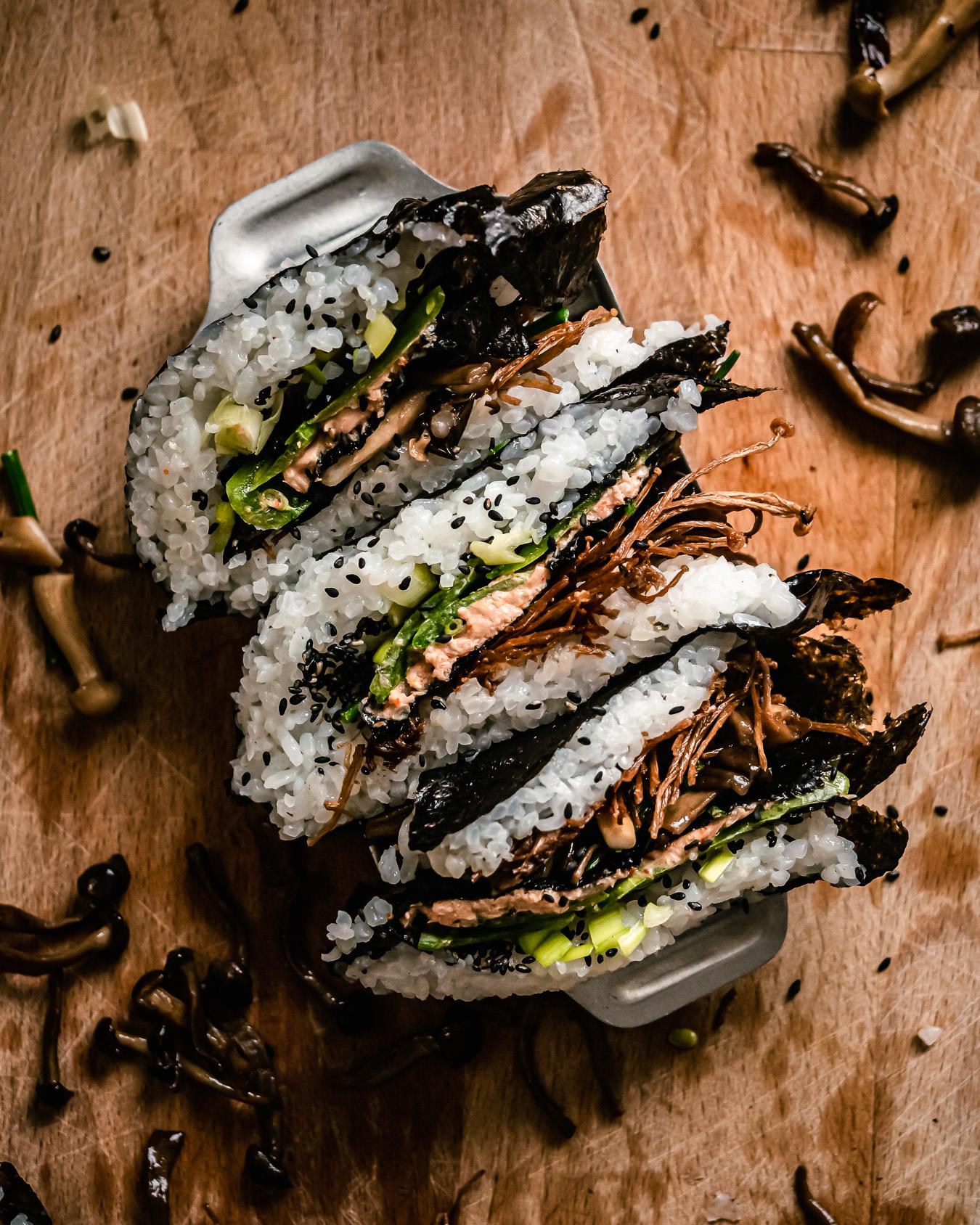 sushi wrap hack