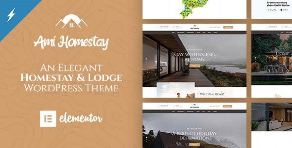 Resort & Hotel WordPress Theme   Erios - 7