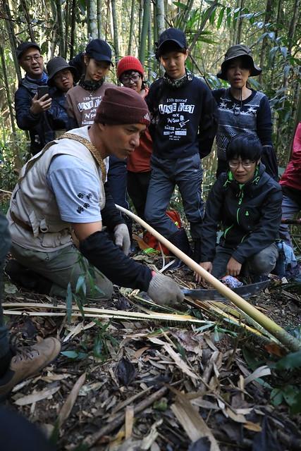 2021鄒之國達邦行(3):採拉刁鑽的黃藤