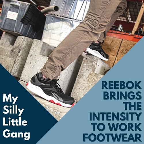 Reebok HIIT TR Work ~ Reebok Brings the Intensity to Work Footwear #MySillyLittleGang