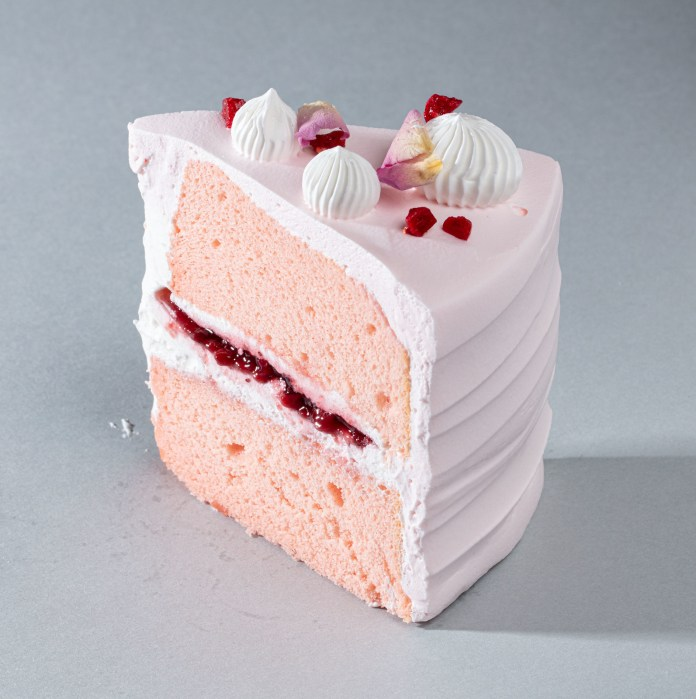Starbucks Sakura Blossom Strawberry Chiffon Cake