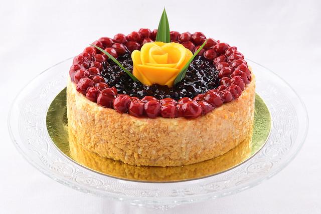 Chef Jessie's Baked   Cheesecake