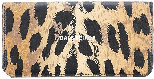 yoox-balenciaga-leather-animal-print-leopard-wallet