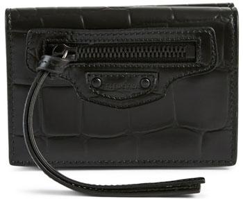 holt-renfrew-balenciaga-mini-neo-classic-croc-leather-city-wallet