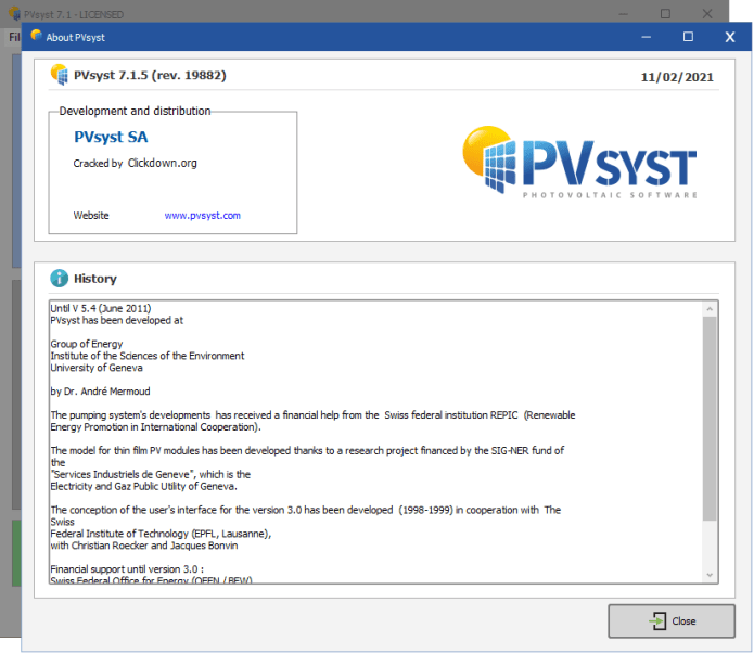 Working with PVsyst Professional 7.1.5 full
