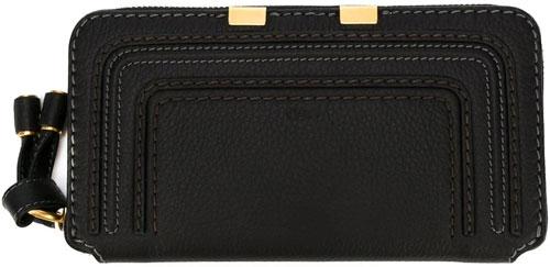 farfetch-chloe-marcie-black-wallet