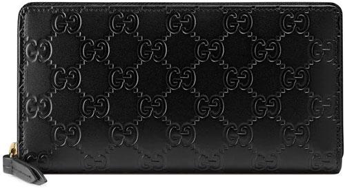farfetch-gucci-signature-zip-wallet-black-leather