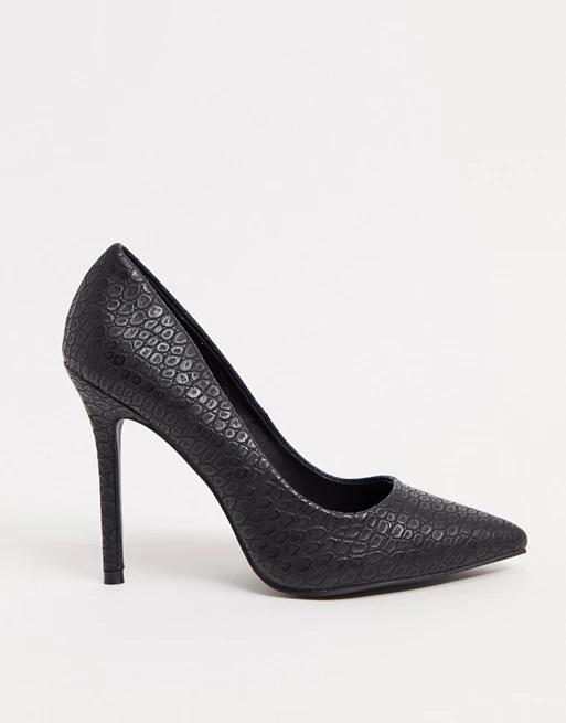 9-asos-faux-leather-black-croc-pumps-shoes