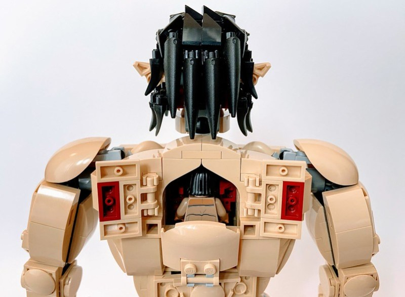 Lego Attack Titan: Cockpit