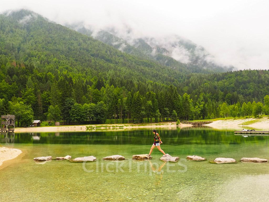 Lago Jasna_Visitar Eslovenia_ClickTrip