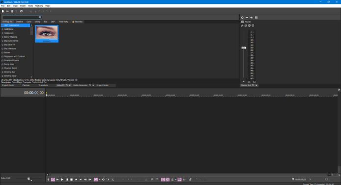 Working with MAGIX VEGAS Pro 18.0.0.434 full license