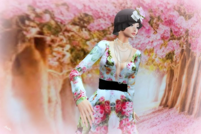 PARISIAN GARDEN GOWN by Cleo Couture 2021