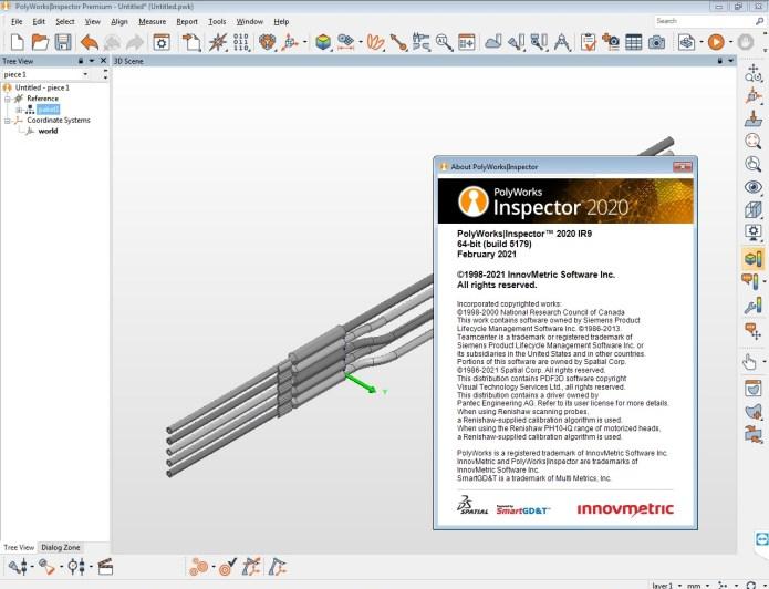 Working with InnovMetric PolyWorks Metrology Suite 2020 IR9 full