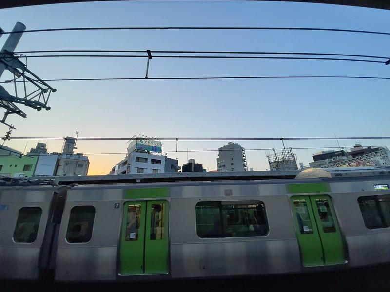 Yamanote line dusk