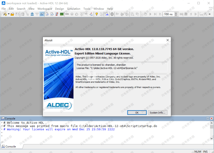 Working with Aldec Active-HDL 12.0.118.7745 x64 full
