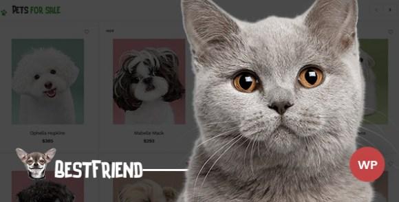 Bestfriend Pet Shop WordPress Theme Themelexus