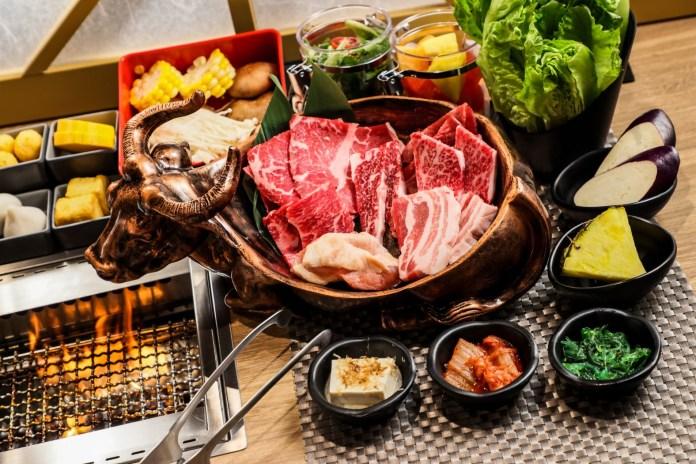 牛舞 Gyumai 拼盤午市套餐