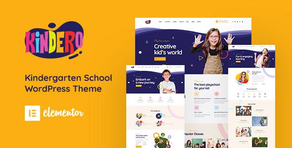 Kindero Education WordPress Theme Themelexus