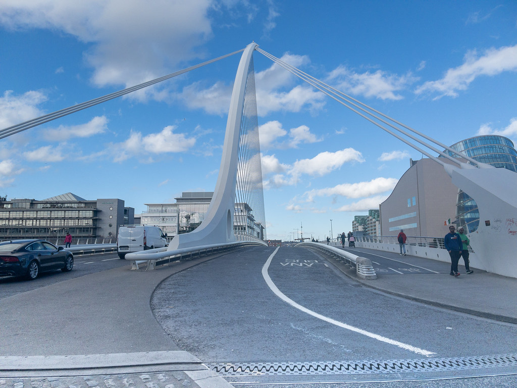 THE SAMUEL BECKETT BRIDGE [FREQUENTLY PHOTOGRAPHED]-170251