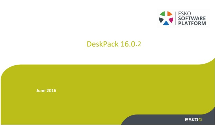 Esko DeskPack 16.0.2 x64 full license