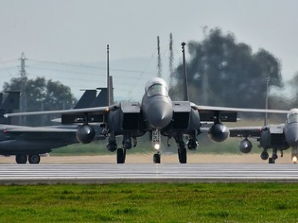 4th FIGHTER WING - USAF - McDonnell Douglas F-15E STRIKE EAGLE - BASE AÉREA DE MORÓN (LEMO)