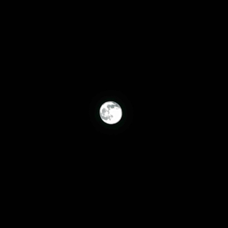 full moon shooting with Microsoft PIX