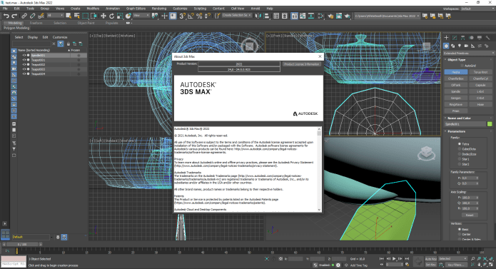 Working with Autodesk 3ds Max 2022 full