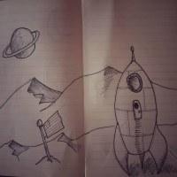 Inktober 2021 Spaceship