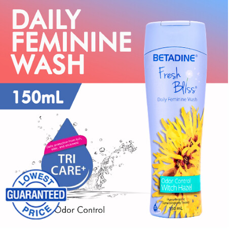 BETADINE Fresh Bliss Witch Hazel
