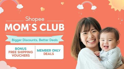 Shopee Mom's Club Banner