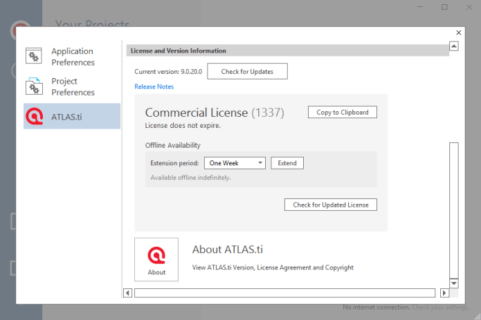 ATLAS.ti 9.0.20.0 Commercial full license