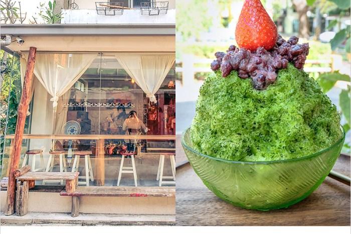 花毛 かき氷喫茶 | 台中南屯黎明新村日式刨冰店,老宅文青風格好拍照,冰品也好吃。
