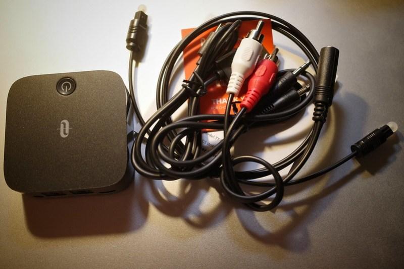 TaoTronics Bluetooth transmitter receiver accessory