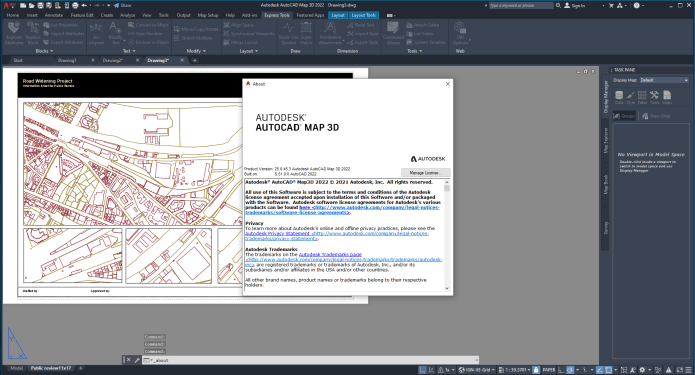 Working with Autodesk AutoCAD Map 3D 2022 full
