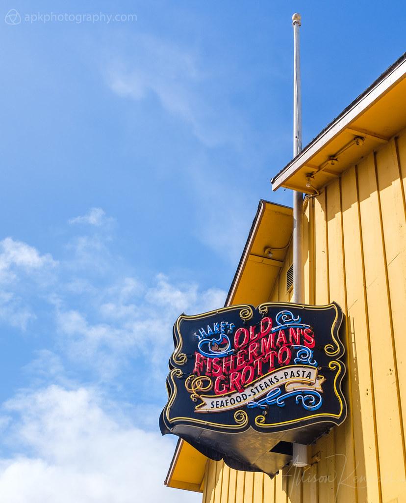 Fisherman's Wharf details, Monterey, California