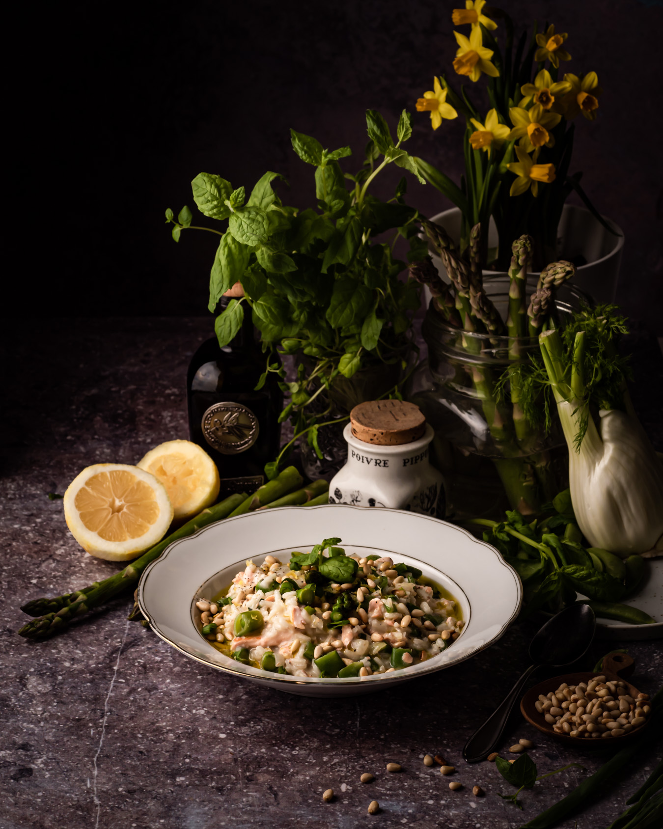 fish risotto