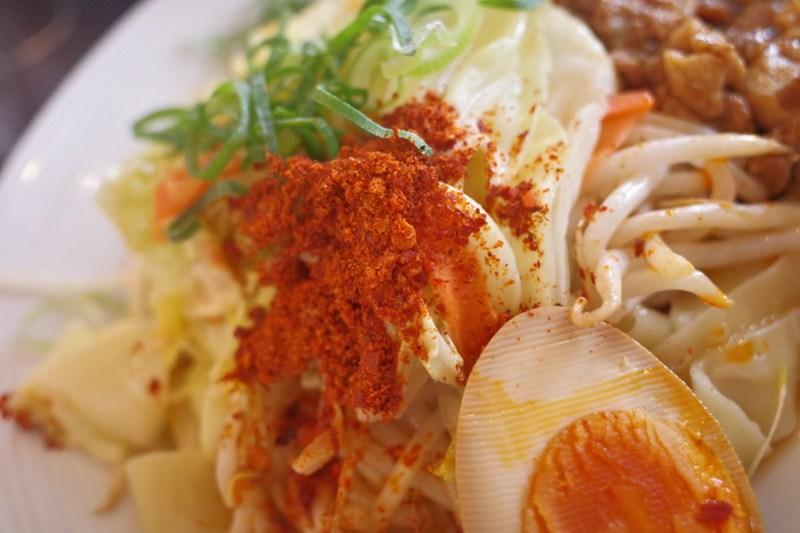 バーミヤンでビャンビャン麺 シャンラー粉