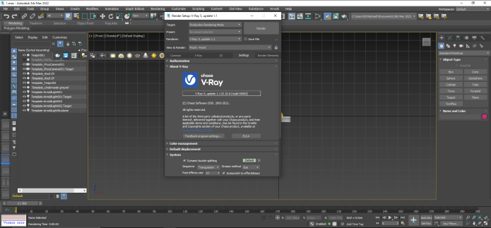 Working with V-Ray Next 5.10.01 for 3ds Max 2022 full