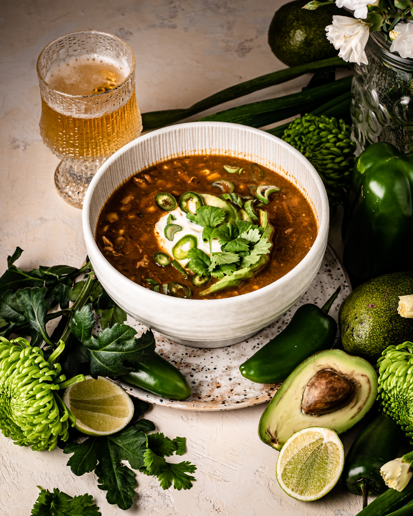 vihreä chili resepti