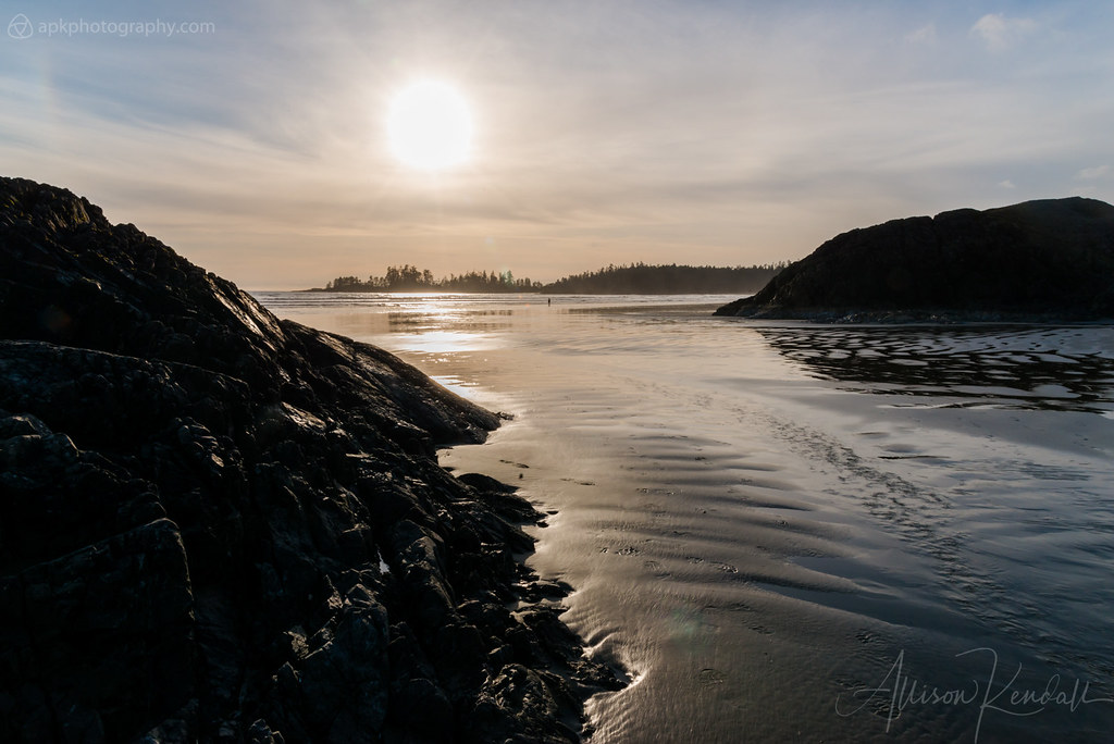 Sun and sea, Tofino, Canada
